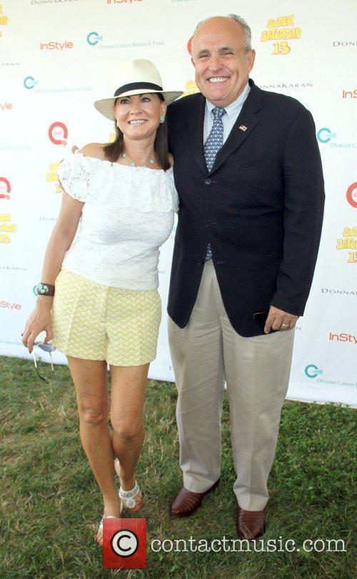 Rudy and Judith Giuliani attend Super Saturday 13...
