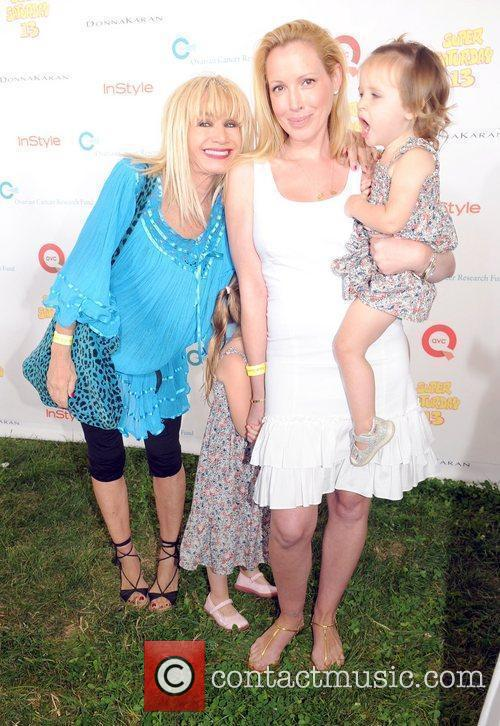 Betsey Johnson and family attend Super Saturday 13...