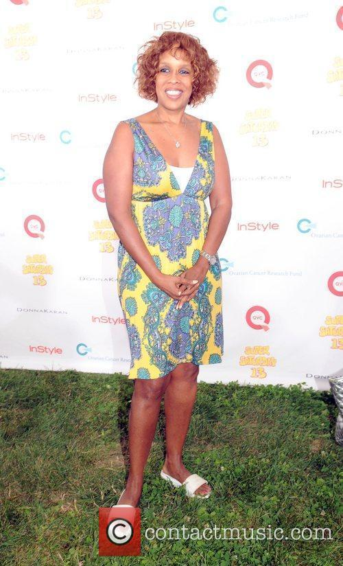 Gayle King attends Super Saturday 13 designer garage...