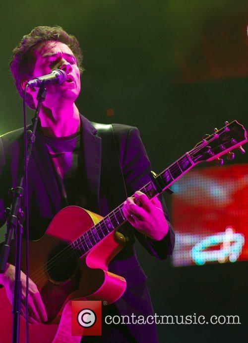 David Fonseca performs live at the Super Bock...