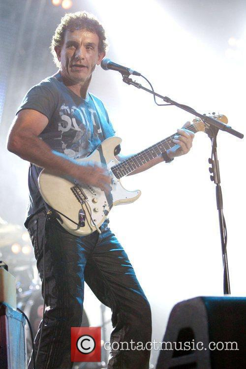 Cold Chisel performing live in concert at ANZ...