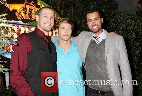 Chase Rice, Judson ' Fabio' Birza and Matthew...
