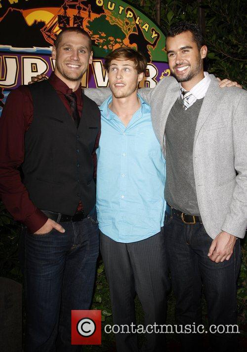 Chase Rice, Judson Birza, Matthew Lenahan The 'Survivor:...