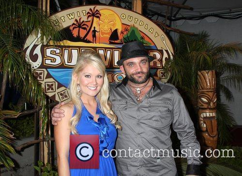 Natalie White and Russell Hantz  The Press...