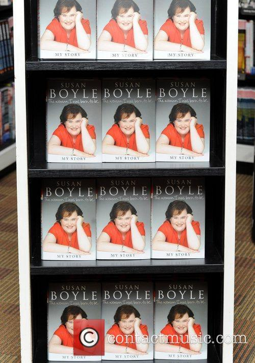 Susan Boyle signs copies of her autobiography 'The...