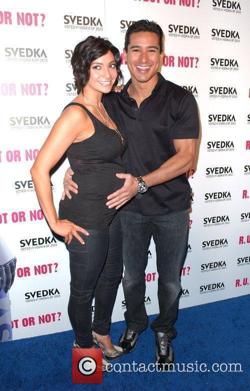 Courtney Mazza and Mario Lopez Svedka Vodka's hosts...