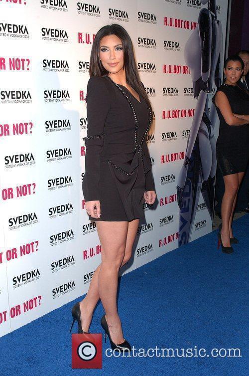 Kim Kardashian Svedka Vodka's hosts R.U.Bot or NOT?...