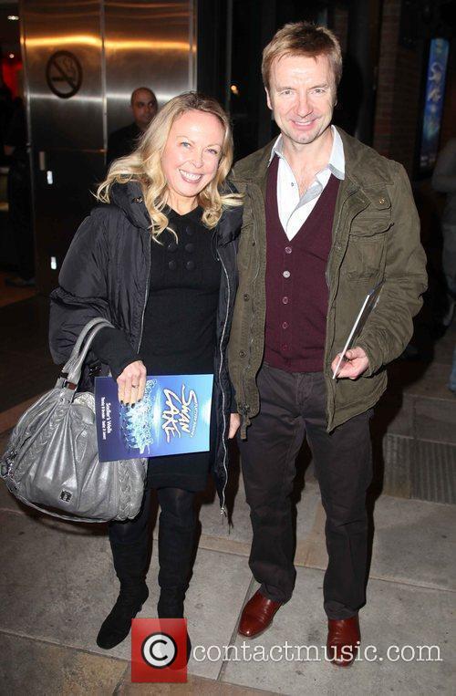 Jane Torvill and Christopher Dean arriving for Matthew...