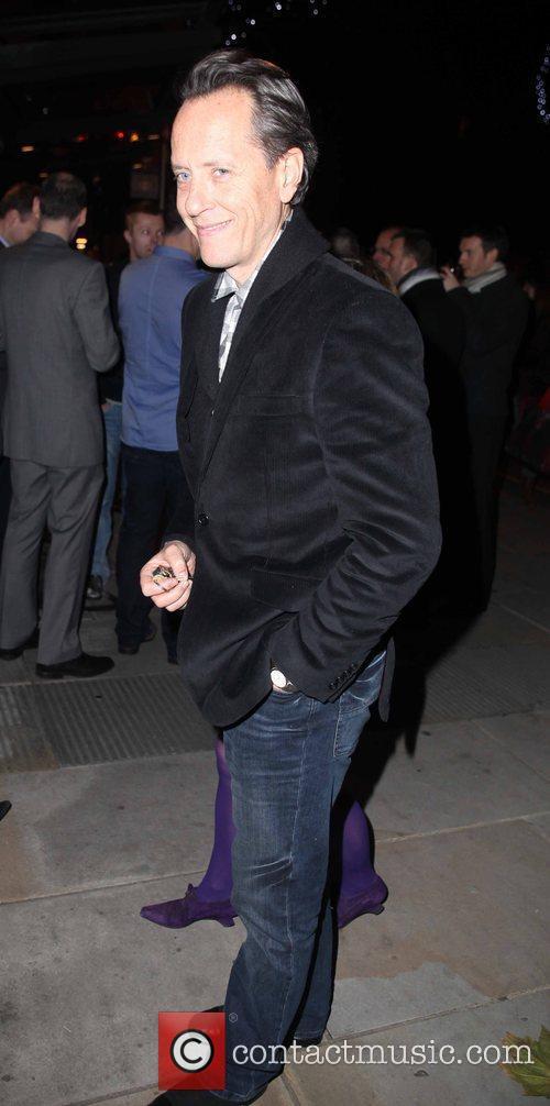 Richard E Grant  arriving for Matthew Bourne's...