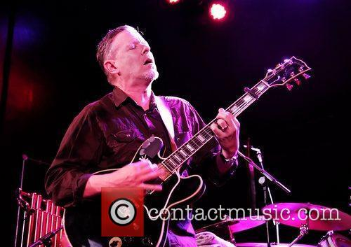 Michael Gira of The Swans performing at Manchester...