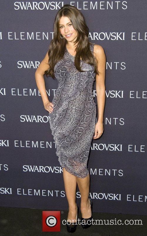 Actress Sofia Vergara attends the 'Swarovski Elements 22...