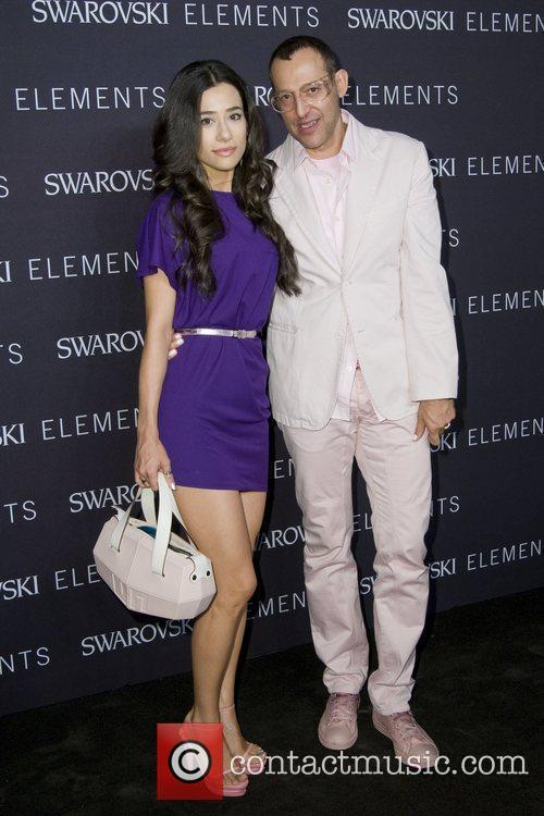 Ivana Rashid and Karim Rashid The 'Swarovski Elements...