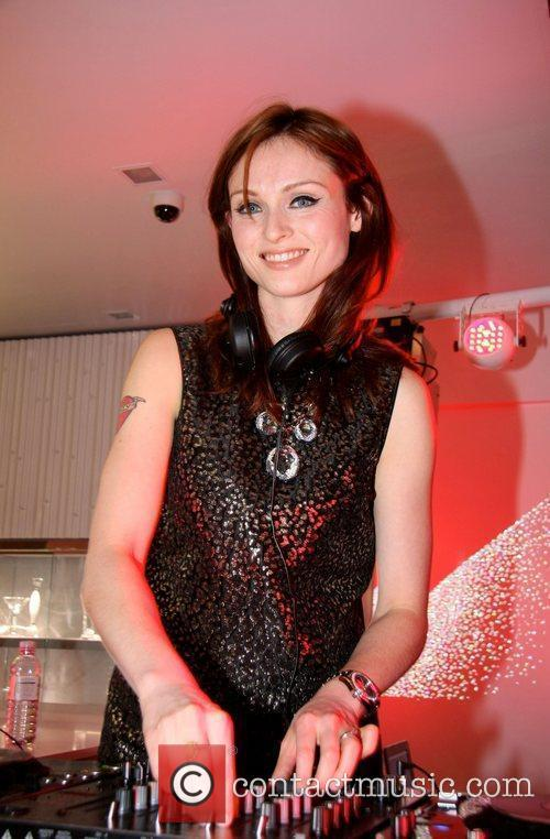 Sophie Ellis Bexter attending the Swarovski flagship store...