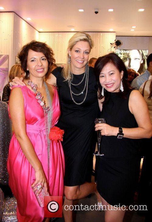 Nathalie Colin, Nadja Swarovski and Joan Ng attending...