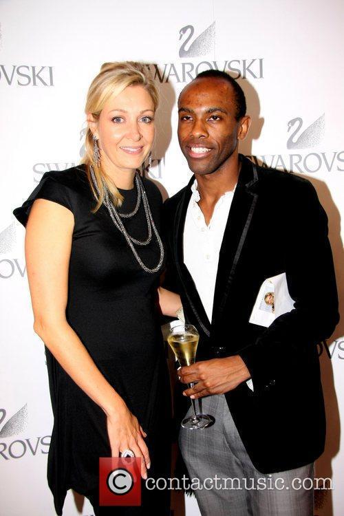Nadja Swarovski and Damian Darkko attending the Swarovski...