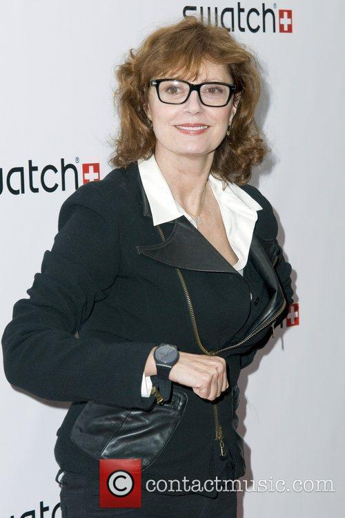 Susan Sarandon The launch of Swatch 'New Gents...