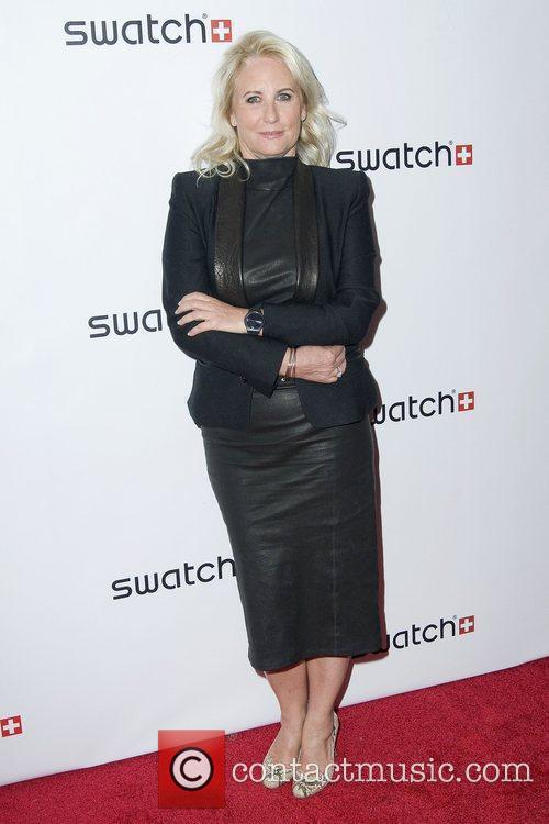 Madame Arlette-Elsa Emch The launch of Swatch 'New...