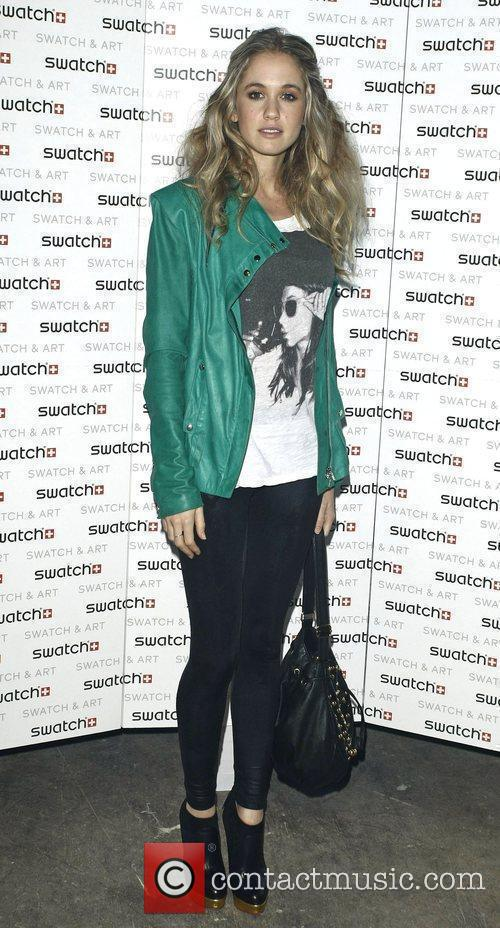 Florence Brundell Bruce attends the Swatch Art Party...