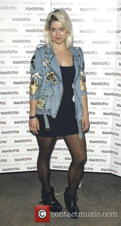 Guest attends the Swatch Art Party held London...