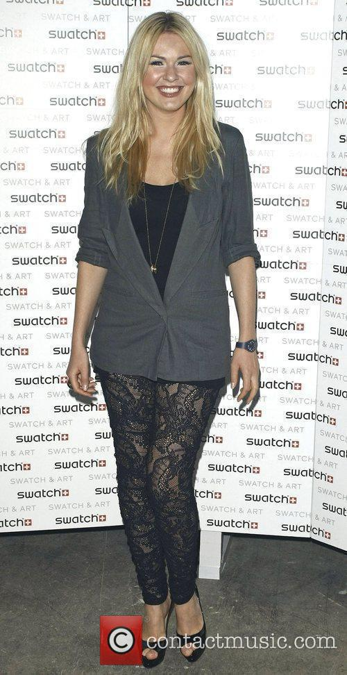 Attends the Swatch Art Party held London Bridge