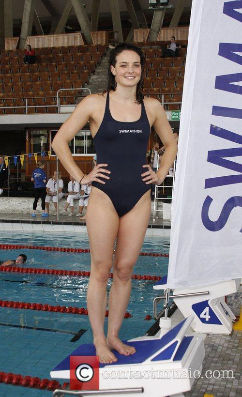 Launch of the Annual World Record Swimathon held...