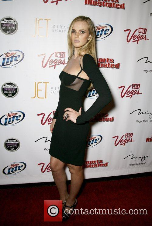 Anna V At the 2010 Sports Illustrated Swimsuit...