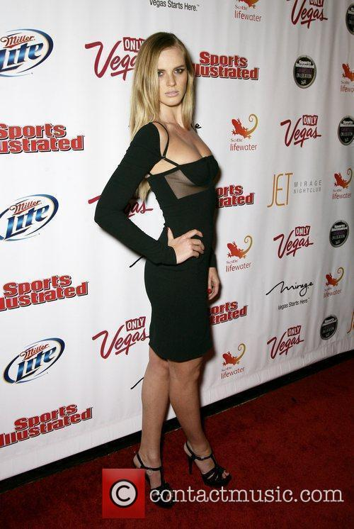 Anne V At the 2010 Sports Illustrated Swimsuit...