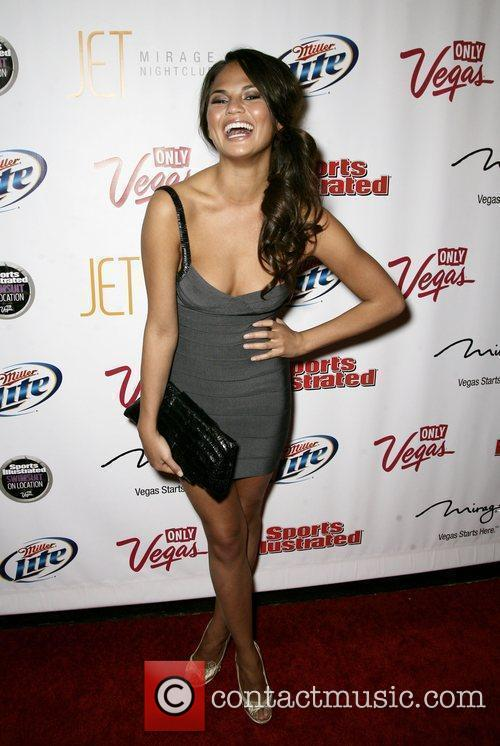 Christine Teigen At the 2010 Sports Illustrated Swimsuit...