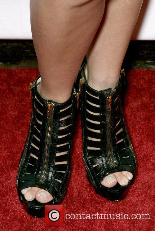 Cintia Dicker's shoes At the 2010 Sports Illustrated...