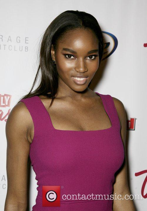 Damaris Lewis At the 2010 Sports Illustrated Swimsuit...