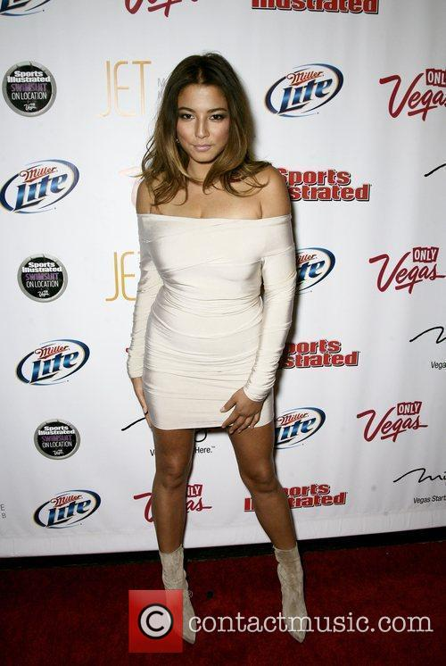 Jessica Gomes At the 2010 Sports Illustrated Swimsuit...
