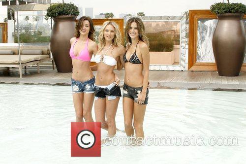 Miranda Kerr, Candice Swanepoel and Alessandra Ambrosio 7