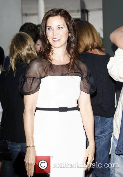 Amanda Anka arrives to the Los Angeles movie...