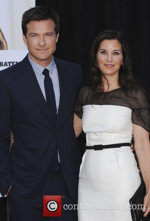 Jason Batewan and wife Amanda Anka Los Angeles...