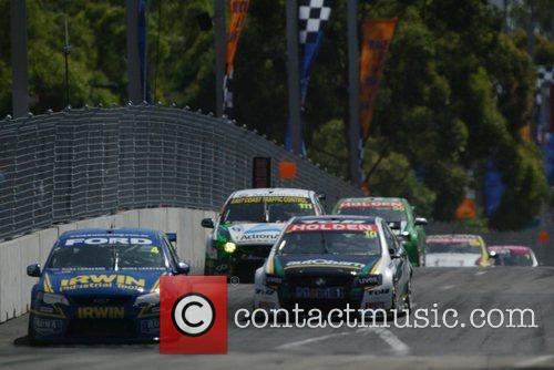 The Sydney 500 V8 Supercars Event Held At Sydney Olympic Park From 4-6 December 2009. 10