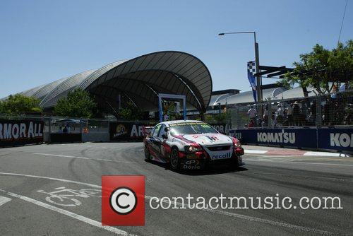 The Sydney 500 V8 Supercars event held at...