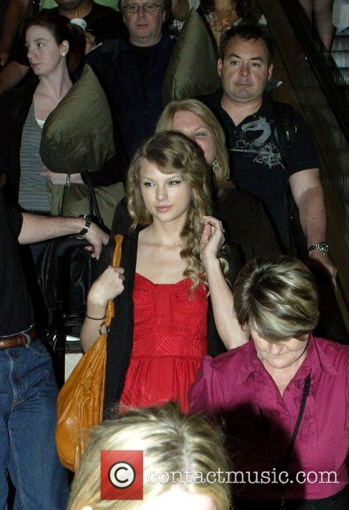 Arrives at Sydney Airport ahead of her Australian...