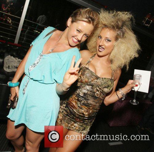 Amy Taylor and model The Coco Riche bikini...