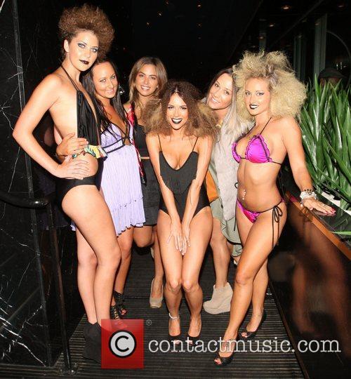 Kasey Osborne and models The Coco Riche bikini...