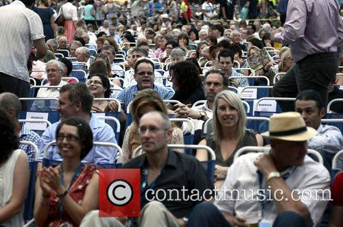 Atmosphere The Sydney Symphony conducts its free annual...