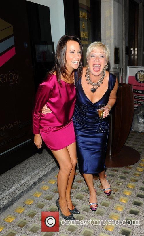 Andrea McLean, Denise Welch 3-Synergy launch party London,...