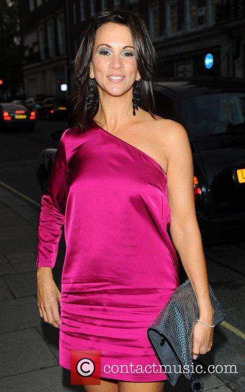 Andrea McLean 3-Synergy launch party London, England