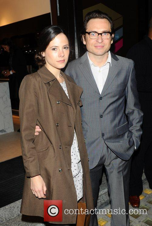 Elaine Cassidy and Stephen Lord 3-Synergy launch party...