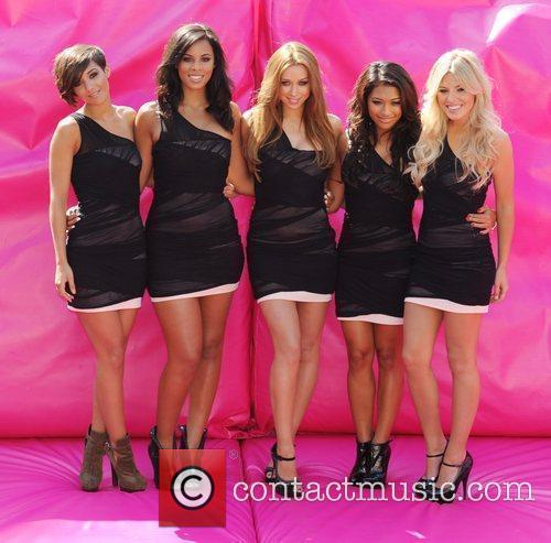 Frankie Sandford, Mollie King, Una Healy, Vanessa White and Rochelle Wiseman 1