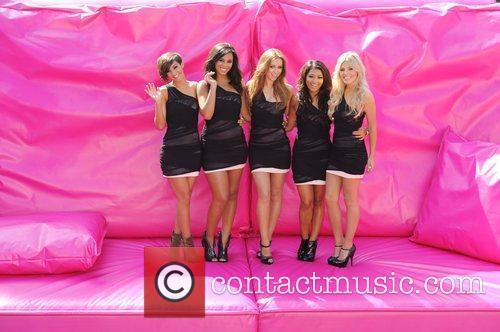Frankie Sandford, Mollie King, Una Healy, Vanessa White and Rochelle Wiseman 5