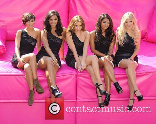 Frankie Sandford, Mollie King, Una Healy, Vanessa White and Rochelle Wiseman 10