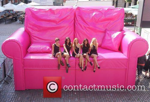Frankie Sandford, Mollie King, Una Healy, Vanessa White and Rochelle Wiseman 6