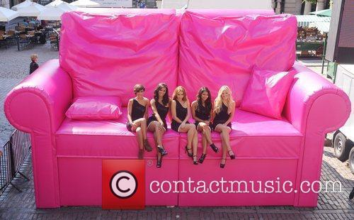 Frankie Sandford, Mollie King, Una Healy, Vanessa White and Rochelle Wiseman 7