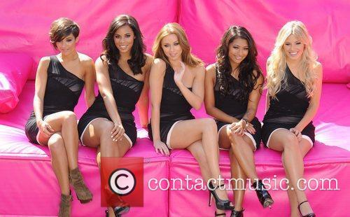 Frankie Sandford, Mollie King, Una Healy, Vanessa White and Rochelle Wiseman 9