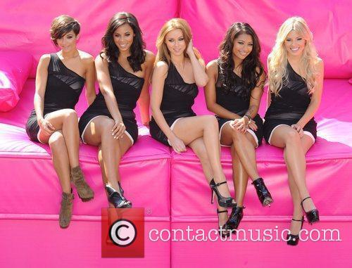 Frankie Sandford, Mollie King, Una Healy, Vanessa White and Rochelle Wiseman 8